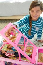 Baby products wholesaler of Barbie 3 in 1 Dream Camper