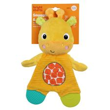 Baby products supplier of Bright Starts Snuggle & Teethe Giraffe