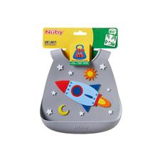 Nursery products wholesaler of Nuby 3D Silicone Bib