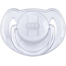 Philips Avent Translucent Soothers 0-6m 2Pk