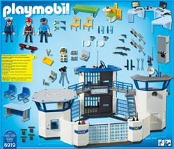 UK distributor of Playmobil Police Headquarters with Prison