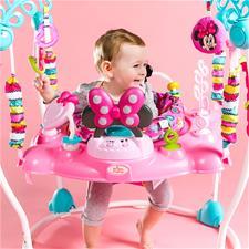 UK distributor of Bright Starts Disney Baby Minnie Mouse Peekaboo Entertainer