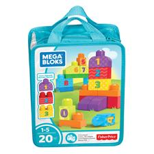 Mega Bloks First Builders & 123 Count Assortment