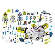 Nursery products distributor of Playmobil Space Mars Space Station with Functioning Double Laser Shooter