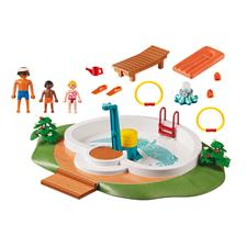 Baby products supplier of Playmobil Swimming Pool with Functioning Shower and Floating Raft
