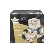 Tommee Tippee Closer to Nature Complete Feeding Set Cool Blue