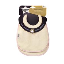 Tommee Tippee Closer to Nature Milk Feeding Bibs 2Pk