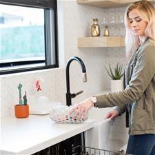 UK distributor of Boon CLUTCH Dishwasher Basket - Grey