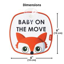 UK distributor of Diono Baby on the Move Signs 2Pk