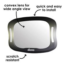 UK distributor of Diono Easy View XXL Black