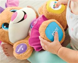 UK distributor of Fisher-Price Laugh & Learn Smart Stages First Words Sister