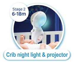 UK distributor of Infantino 3 in 1 Projector Musical Mobile Grey