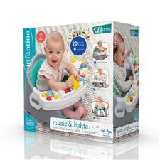 UK distributor of Infantino Music & Lights 3-in-1 Discovery Seat & Booster