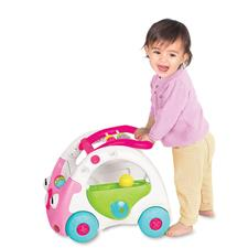 UK distributor of Infantino Sensory 3-in-1 Discovery Car Pink