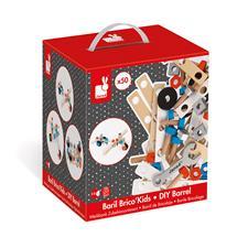 UK distributor of Janod Brico Kids DIY Barrel 50Pc
