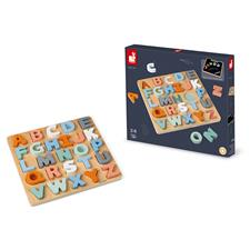 UK distributor of Janod Sweet Cocoon Alphabet Puzzle