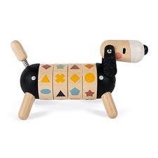 UK distributor of Janod Sweet Cocoon Shapes And Colours Dog