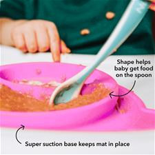 UK distributor of Nuby Suregrip Monkey Feeding Mat