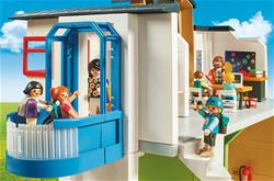 UK distributor of Playmobil City Life Furnished School Building with Digital Clock