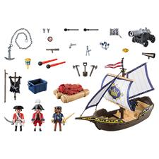 UK distributor of Playmobil Pirates Redcoat Caravel
