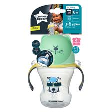 UK distributor of Tommee Tippee Soft Sippee Trainer Cup 230ml