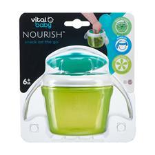 UK distributor of Vital Baby NOURISH Snack On The Go Pop