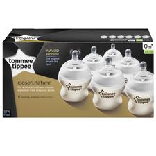 UK wholesaler of Tommee Tippee Closer to Nature Bottle 150ml 6Pk