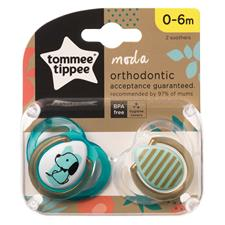 Wholesale of Tommee Tippee Closer to Nature Moda Soother 0-6m 2Pk