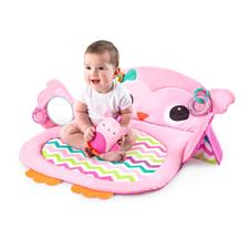 UK wholesaler of Bright Starts Tummy Time Prop and Play Owl