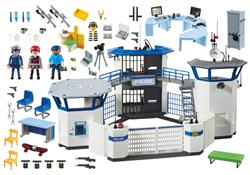 Distributor of Playmobil Police Headquarters with Prison