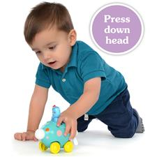 In the Night Garden Press and Go Vehicles Assortment