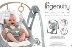 Ingenuity Boutique Collection Swing 'n Go Portable Swing