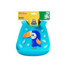 Nursery products supplier of Nuby 3D Silicone Bib