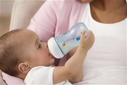 Philips Avent Natural Bottle Decorated Blue 260ml