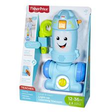 UK wholesaler of Fisher-Price Laugh and Learn Light-up Learning Vacuum