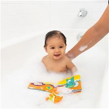 UK wholesaler of Infantino Bath Book with Roto Squirter