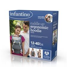 UK wholesaler of Infantino Cuddle Up Ergonomic Hoodie Carrier