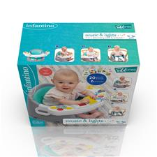 UK wholesaler of Infantino Music & Lights 3-in-1 Discovery Seat & Booster