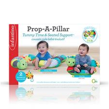 UK wholesaler of Infantino Prop-A-Pillar Tummy Time & Seated Support