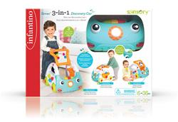 UK wholesaler of Infantino Sensory 3-in-1 Discovery Car