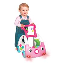 UK wholesaler of Infantino Sensory 3-in-1 Discovery Car Pink