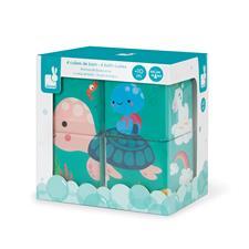 UK wholesaler of Janod Bath Cubes 4Pk