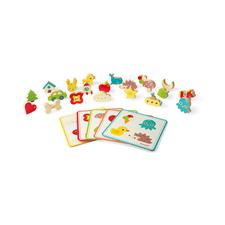 UK wholesaler of Janod Memory Touch Recognition Game
