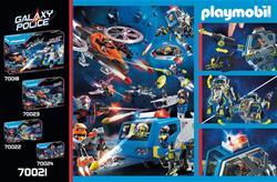 UK wholesaler of Playmobil Galaxy Police Robot