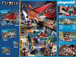 UK wholesaler of Playmobil Pirates Redcoat Caravel