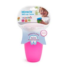 Baby products supplier of Munchkin Miracle 360 Sippy Cup Pink 296ml