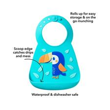 Baby products supplier of Nuby 3D Silicone Bib