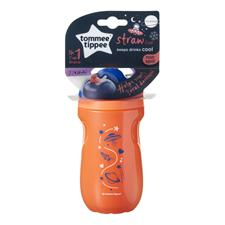 Baby products supplier of Tommee Tippee Active Insulated Straw Cup 12m+