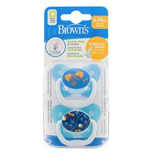 Supplier of Dr Brown's PreVent Soother Sky 6-12m 2PK