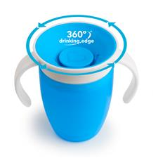 Supplier of Munchkin Miracle 360 Trainer Cup Blue 207ml